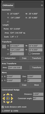 CADtracker panel sample